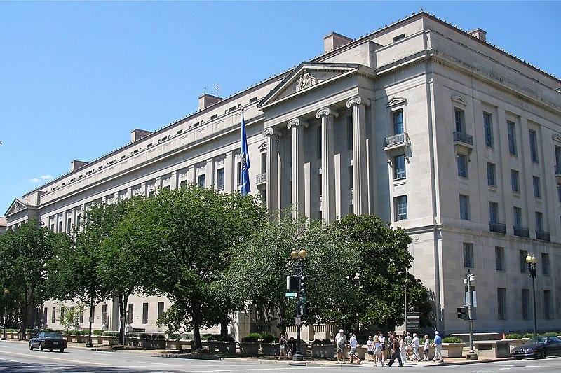 Justice Department building