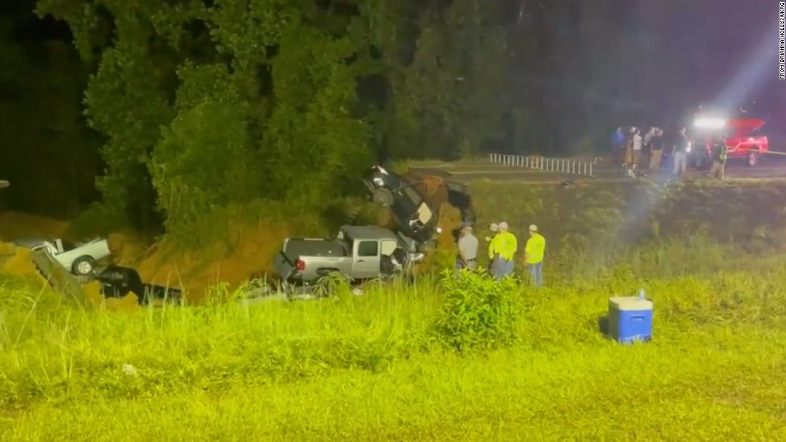 Mississippi Highway 26 collapse