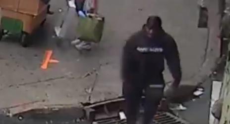 Image of suspect on camera