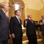 Mike Pence, Brett Kavanaugh, Mitch McConnell, and Jon Kyl